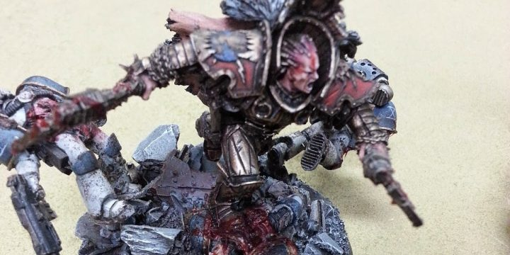 [Showcase]  Forge World Angron, Primarch of the World Eaters