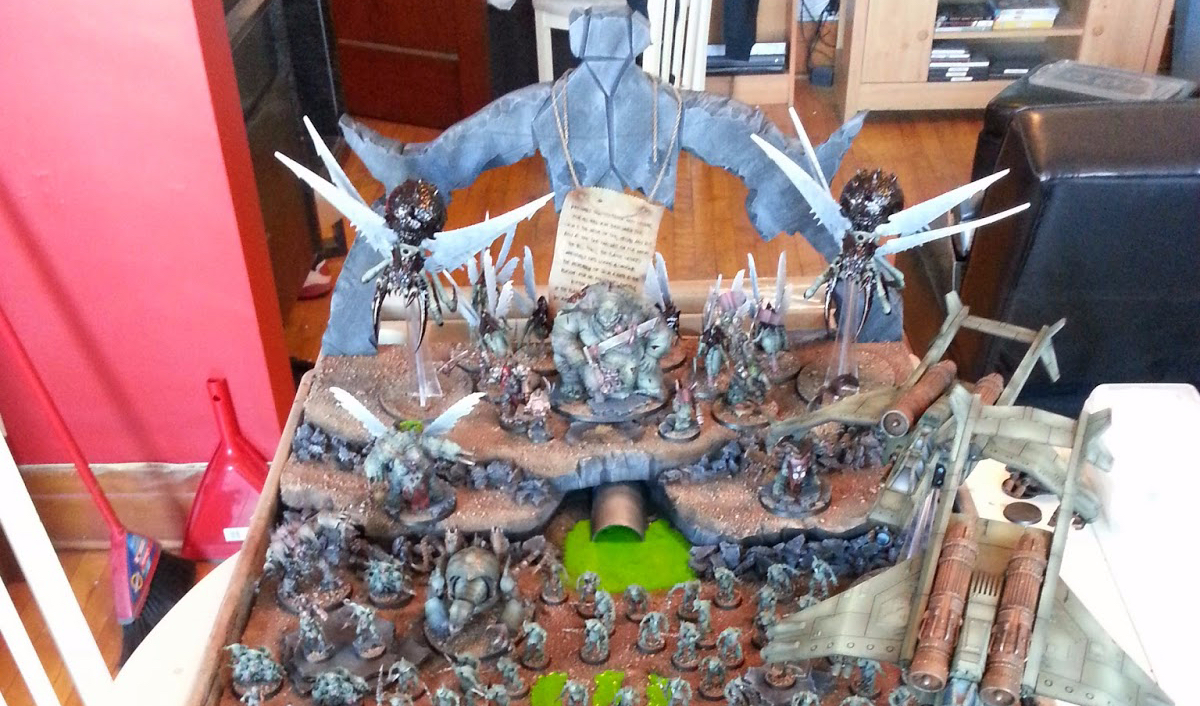 Step by step – Build and Army Display Board
