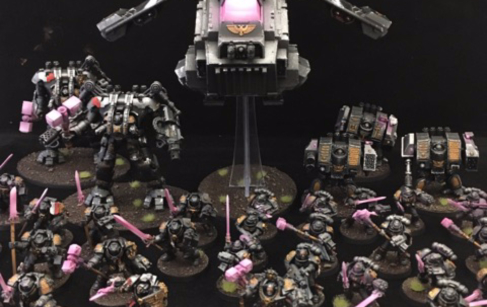 Army of the Month – April – Titan's Fab-Os